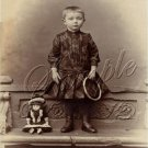 VICTORIAN GIRL ANTIQUE DOLL PHOTO CANVAS ART PRINT