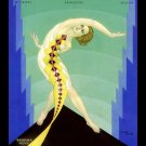DECO DANCE MAGAZINE COVER TAMARA GEVA CANVAS ART PRINT