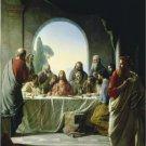VINTAGE JESUS LAST SUPPER UNIQUE CHRISTIAN CANVAS PRINT
