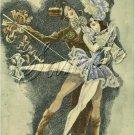 ART DECO BALLET DANCERS DANCE COSTUME CANVAS PRINT BIG