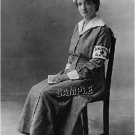 WWI RED CROSS NURSE WARD UNIFORM PHOTO CANVAS  PRINT