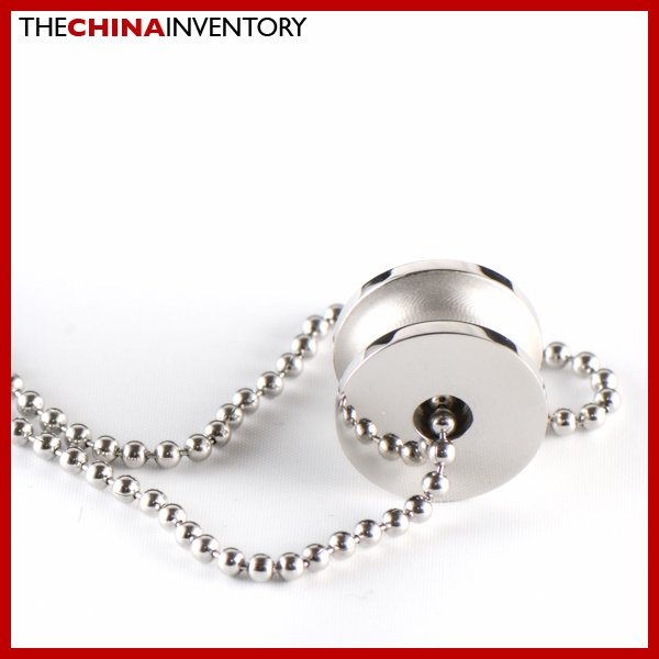 STAINLESS STEEL PULLEY PENDANT NECKLACE