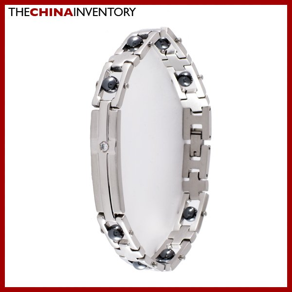 STAINLESS STEEL MAGNETIC HEALTH THERAPY BRACELET B0331