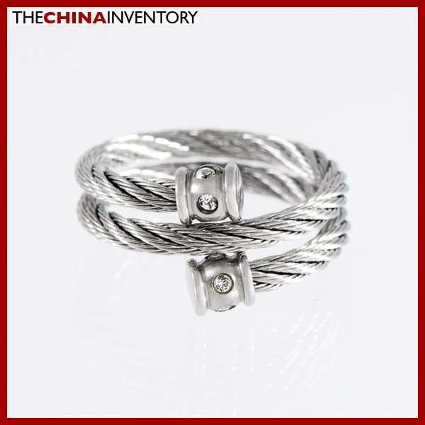 SIZE 9 STAINLESS STEEL FILIGREE ROPE R1106A