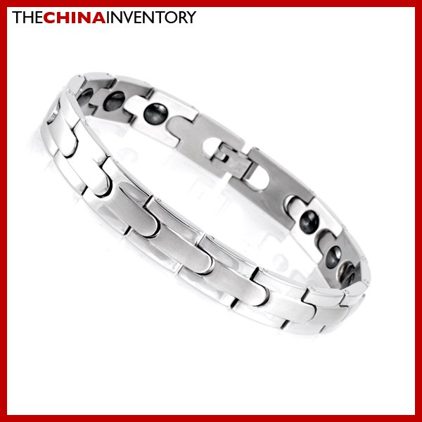 "10MM 8"""" STAINLESS STEEL HEALTH WATCHBAND BRACELET B1721"