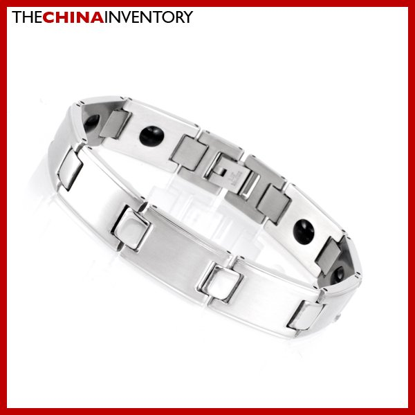 "13MM 8"""" STAINLESS STEEL HEALTH WATCHBAND BRACELET B1720"