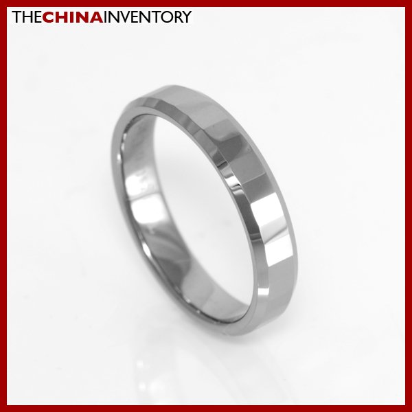 4MM SIZE 6 TUNGSTEN CARBIDE WEDDING BAND RING R1503