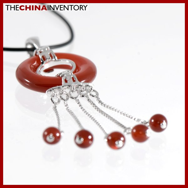 925 STERLING SILVER AGATE DANGLING PENDANT SIL1124