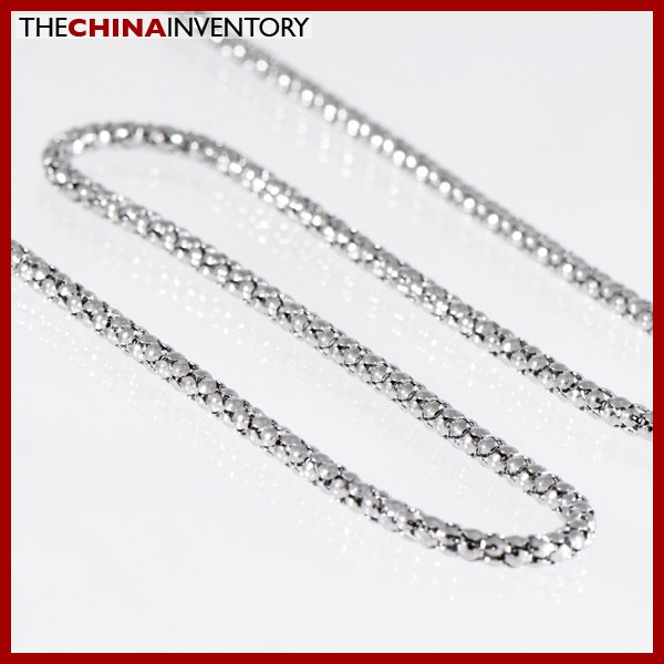"""22"""""""" STAINLESS STEEL ROUND SNAKE CHAIN NECKLACE N1104"""