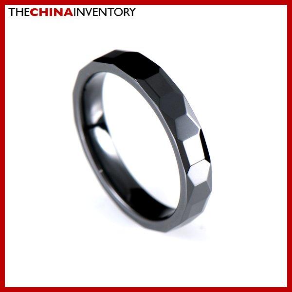 4MM SIZE 9 CERAMIC WEDDING BAND RING R1601