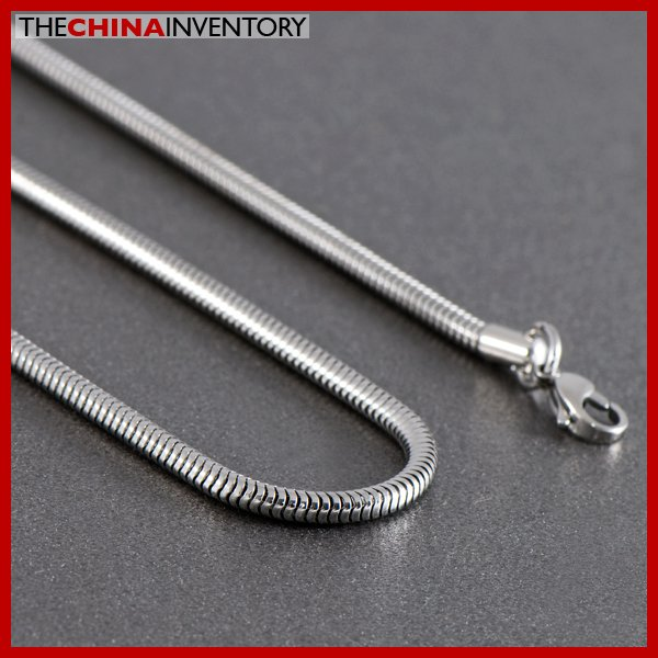 "3.2MM 28"""" STAINLESS STEEL SNAKE CHAIN NECKLACE N1009B"