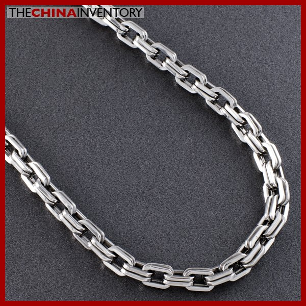 "21"""" STAINLESS STEEL DOUBLE CHAIN NECKLACE N0728"