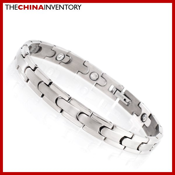 "8 1/2"""" TITANIUM HEALTH THERAPY WATCHBAND BRACELET B1116"