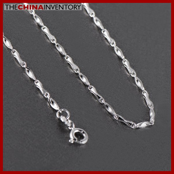 """20"""""""" 925 STERLING SILVER SLIM CHAIN NECKLACE SIL1407B"""