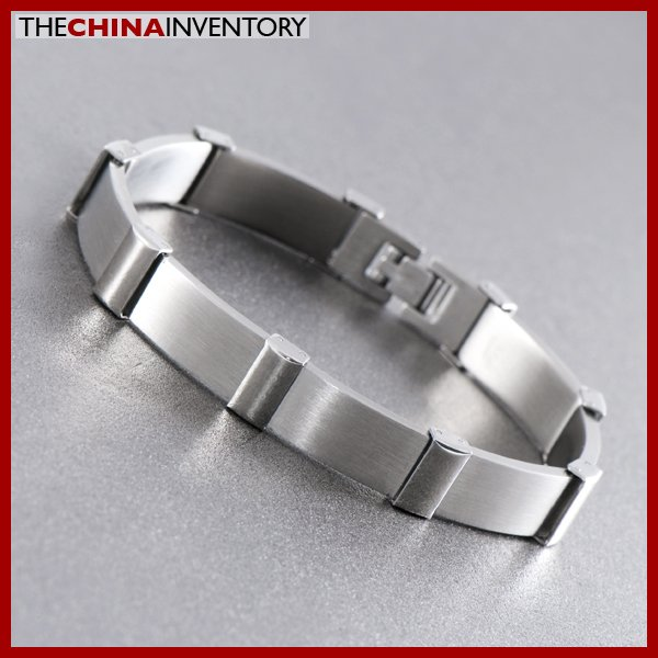 "8 1/4"""" STAINLESS STEEL WATCHBAND BRACELET B1015"
