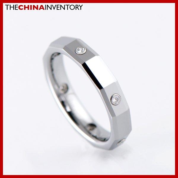 4MM SIZE 7 TUNGSTEN WEDDING RING FOR HIM & HER R1904