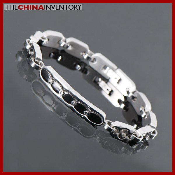 "8 1/4"""" STAINLESS STEEL SLIM ID TAG BRACELET B1118"