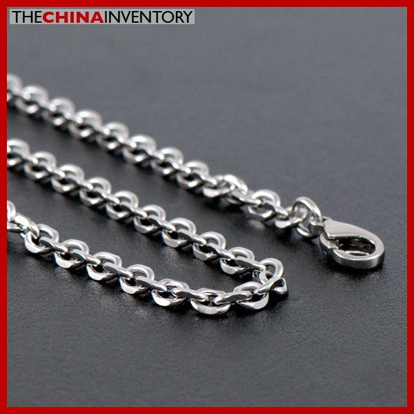 "20"""" STAINLESS STEEL BELCHER CHAIN NECKLACE N1309"