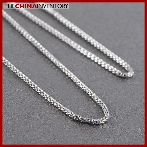 "18"""" 1.4MM STAINLESS STEEL SNAKE CHAIN NECKLACE N1018A"