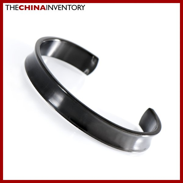 "10MM 7"""" STAINLESS STEEL CUFF BANGLE BRACELET B0310C"