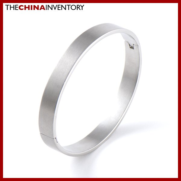 "8MM 7"""" STAINLESS STEEL CUFF BANGLE BRACELET B0311B"