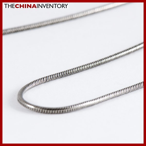 """20"""""""" 1.2MM STAINLESS STEEL SNAKE CHAIN NECKLACE N1006A"""