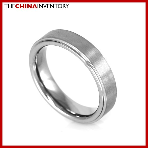 5MM SIZE 5.5 TUNGSTEN CARBIDE WEDDING BAND RING R1504