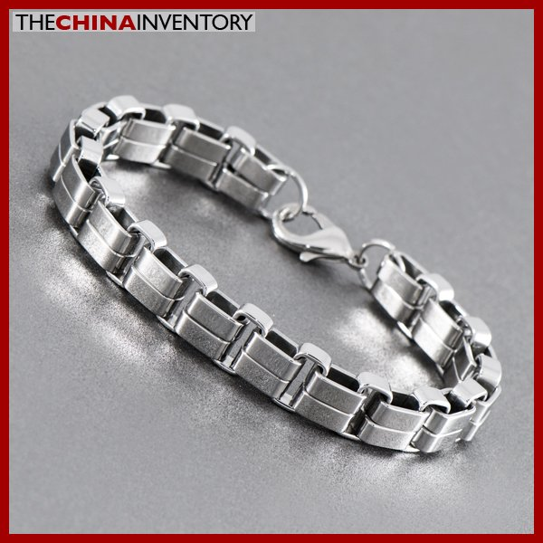 HEAVY DUTY STAINLESS STEEL DOUBLE CHAIN BRACELET B1023