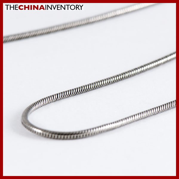 """20"""""""" 1.5MM STAINLESS STEEL SNAKE CHAIN NECKLACE N1006B"""