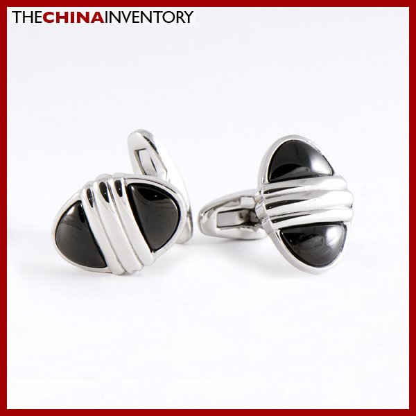 NEW STAINLESS STEEL OVAL CUFF LINKS CUFFLINKS C0801