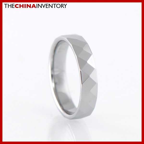 4MM SIZE 7.5 TUNGSTEN CARBIDE WEDDING BAND RING R1402B