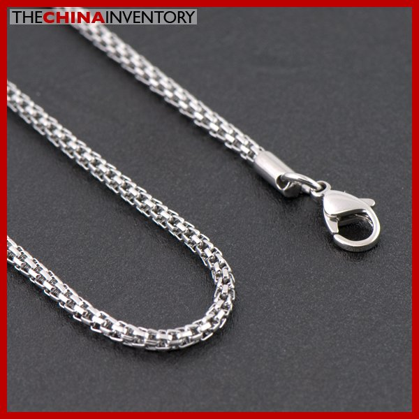 2.5MM 50CM STAINLESS STEEL SNAKE CHAIN NECKLACE N1806A