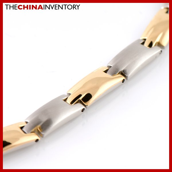"""7MM 20"""""""" STAINLESS STEEL TWO TONE NECKLACE N1810A"""