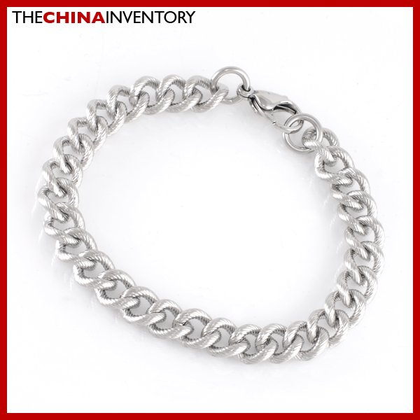 """10MM 9"""""""" STAINLESS STEEL CURB ROPE CHAIN BRACELET B1908"""