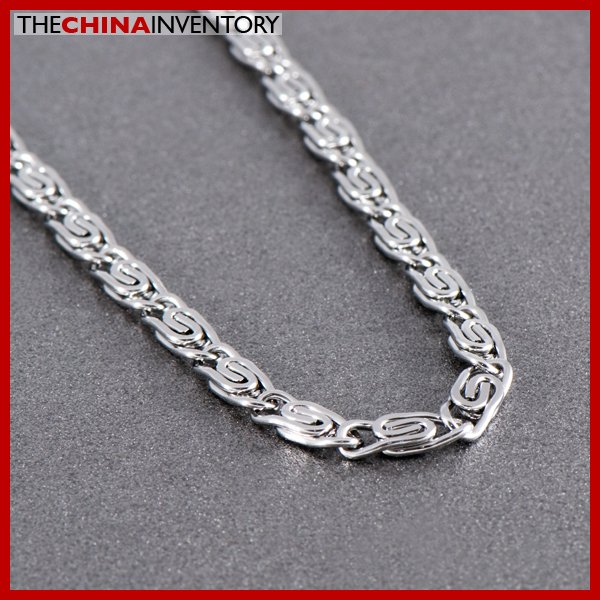 """24"""""""" 5MM STAINLESS STEEL CLIPS LINK NECKLACE N1011C"""