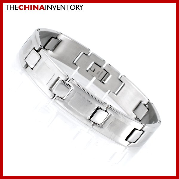 "13MM 8"""" STAINLESS STEEL WATCHBAND BRACELET B1717"