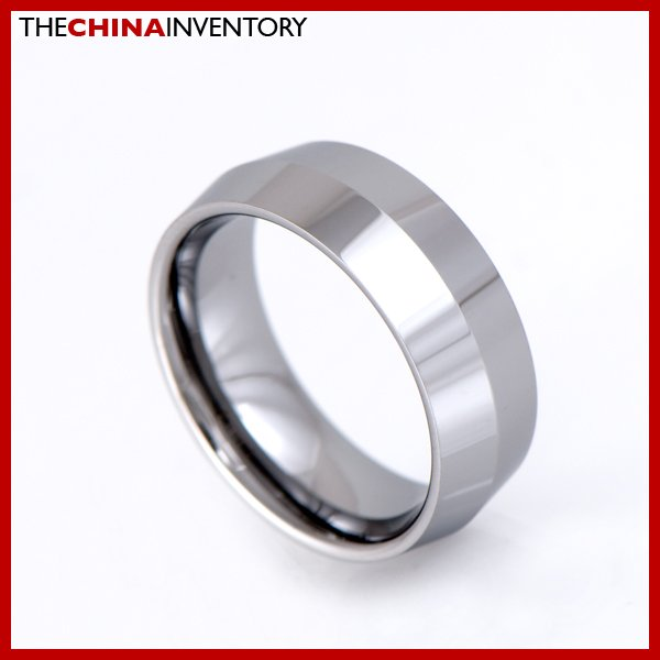 8MM SIZE 6 TUNGSTEN CARBIDE WEDDING BLADE RING R1704
