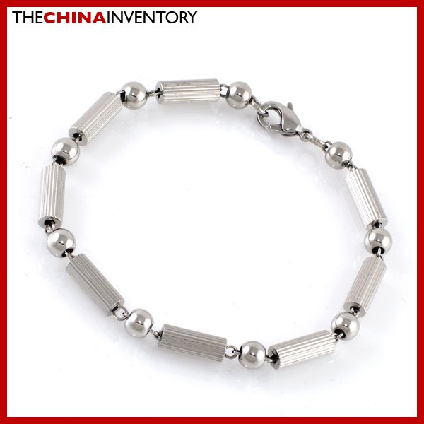 """8.5"""""""" STAINLESS STEEL CHAIN NECKLACE BAMBOO STYLE B2112"""