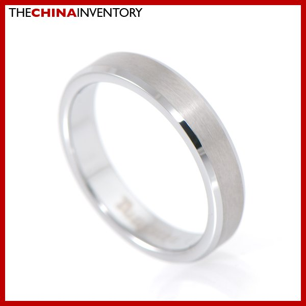 4MM SIZE 5 TUNGSTEN CARBIDE RING WEDDING BAND R1004B