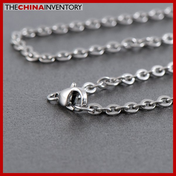 60CM STAINLESS STEEL BELCHER CABLE CHAIN NECKLACE N1603