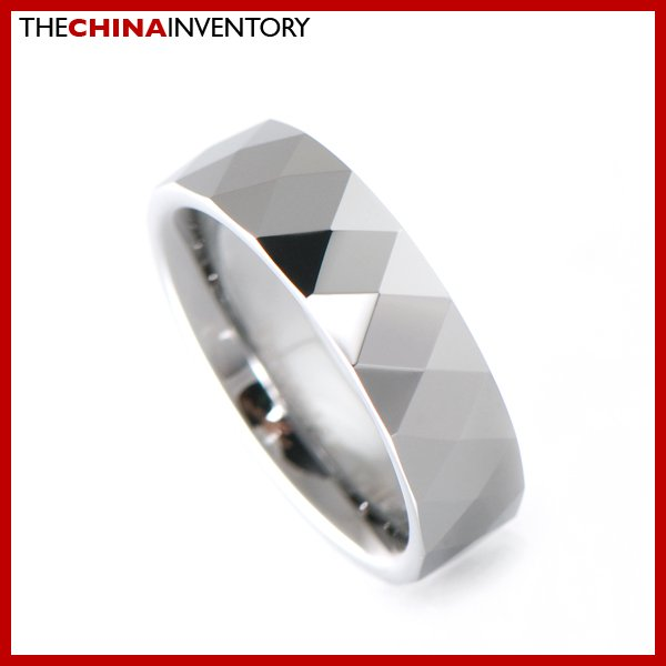 6MM SIZE 5.5 TUNGSTEN CARBIDE RING WEDDING BAND R1901