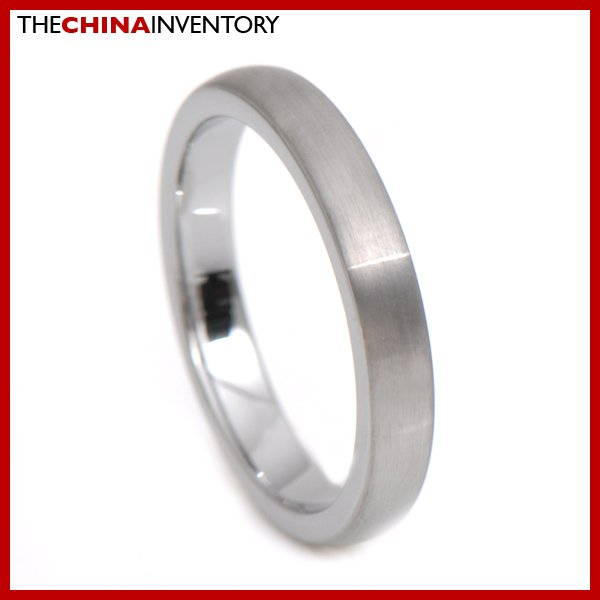 4MM SIZE 7 TUNGSTEN CARBIDE WEDDING BAND RING R3405A