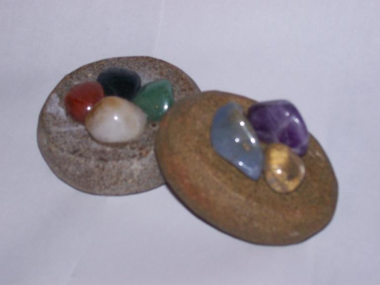 The Complete Chakra Massage Stone Package (w BONUS)