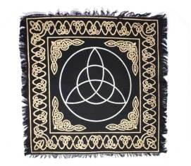 Altar Tarot Triquetra Black Cloth