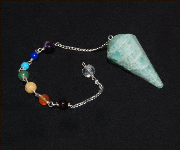 Amazonite Chakra Pendulum