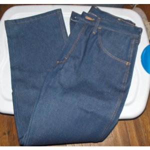 Men's Rustler blue jeans-34 x 30 boot cut-NEW