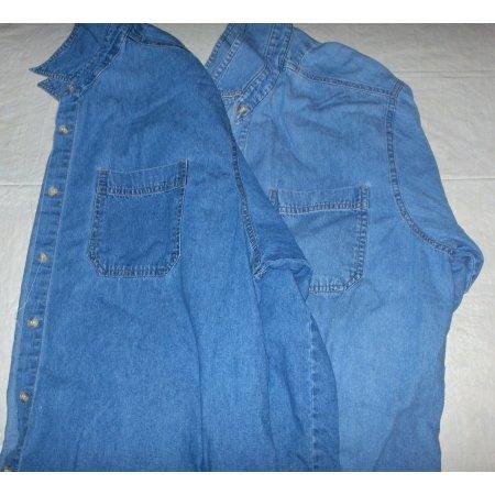 Denim shirts-2-good work shirts XL 3X used