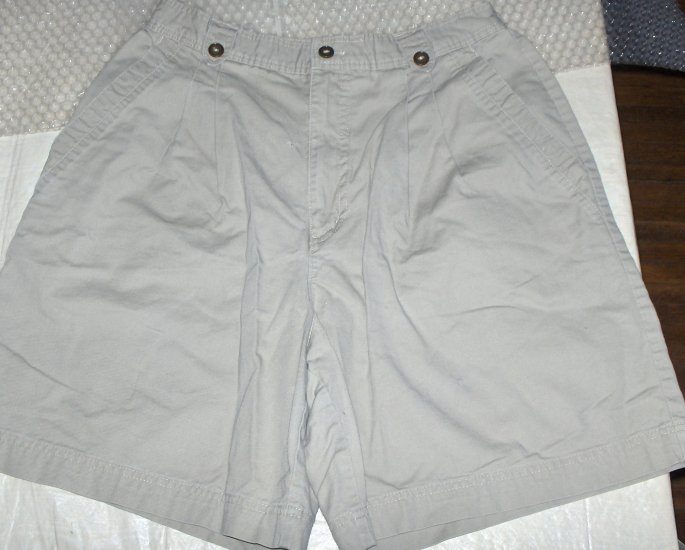 St. John's Bay Khaki shorts womens 12