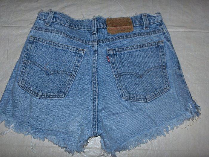 Levi's Red Tab denim shorts size 12 petite like new