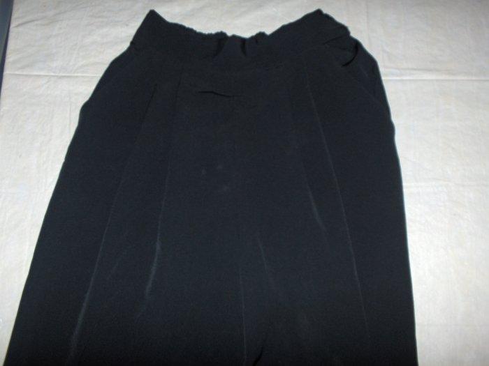 New Editions Black pleated slacks/pants sz 8